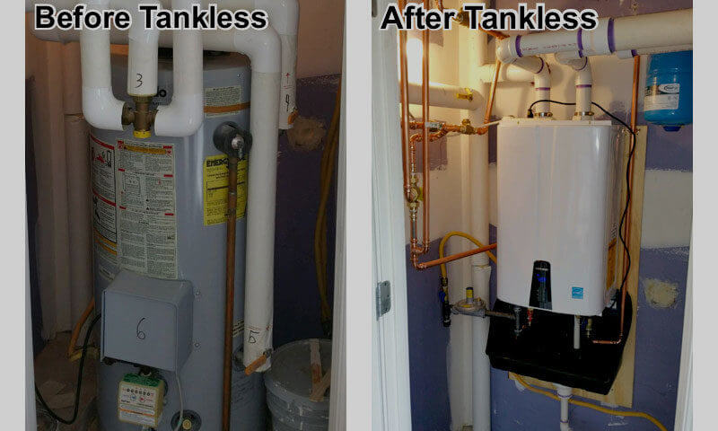 Tankless Water Heater Installation-San Diego Water Heater Installation & Repair Services
